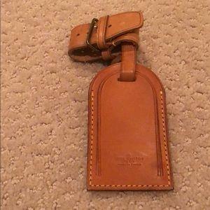 Louis Vuitton Luggage Tag + Luggage Belt # 91